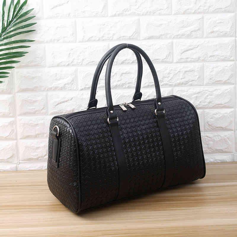 Duffel çanta erkek taşınabilir seyahat çantası büyük kapasiteli kısa mesafeli iş omuz katlanır1 2T3B