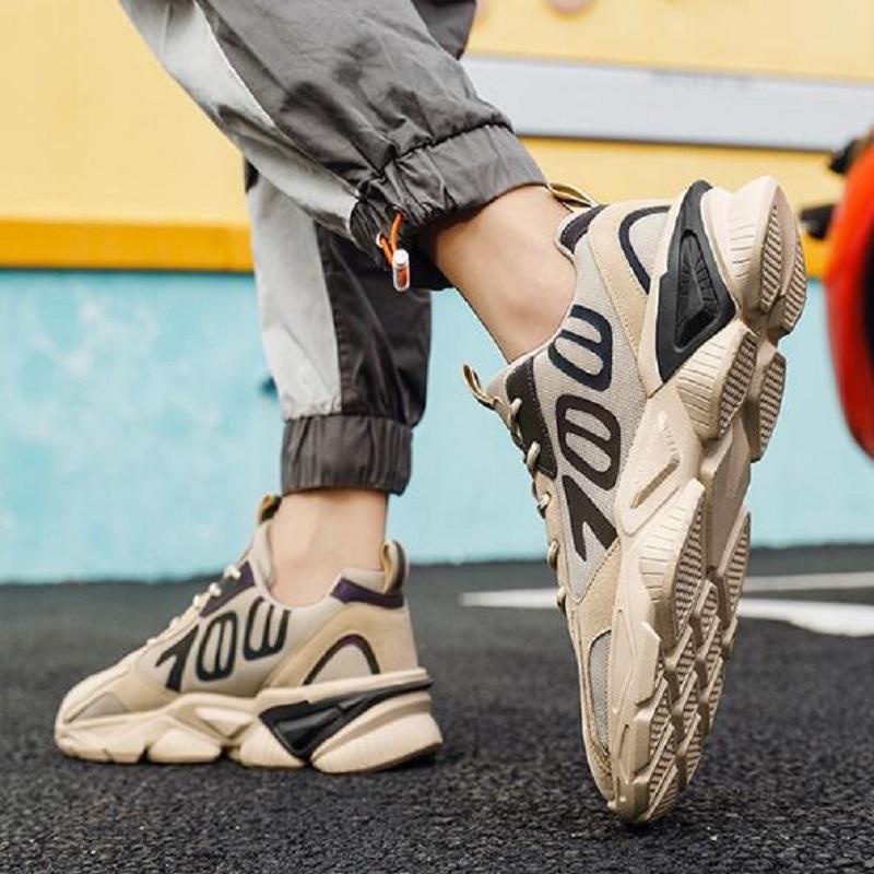 الرجال الاحذية خفيفة الوزن تنفس شبكة الرياضة الرياضية حذاء عاكس للركض المرأة المشي أحذية رياضية