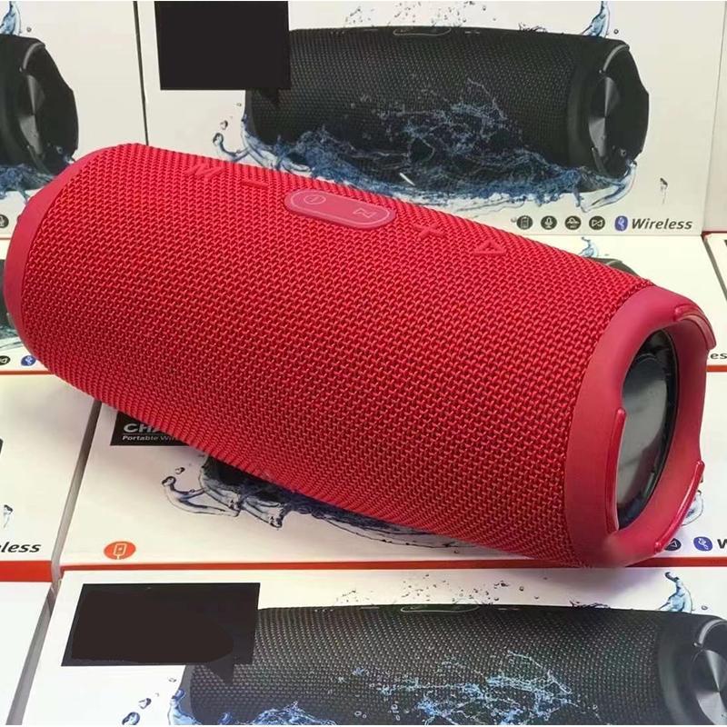 Top Vendeur E5 Mini Portable sans fil Bluetooth Bluetooth avec paquet haut-parleur extérieur 5 couleurs