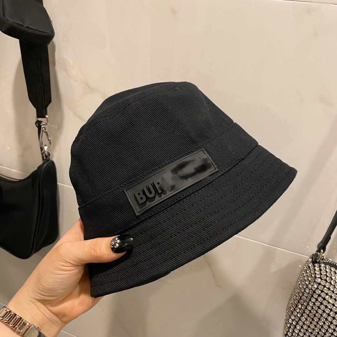 2021 Chapeau de seau à la mode de la mode en toile de coton pour hommes et femmes