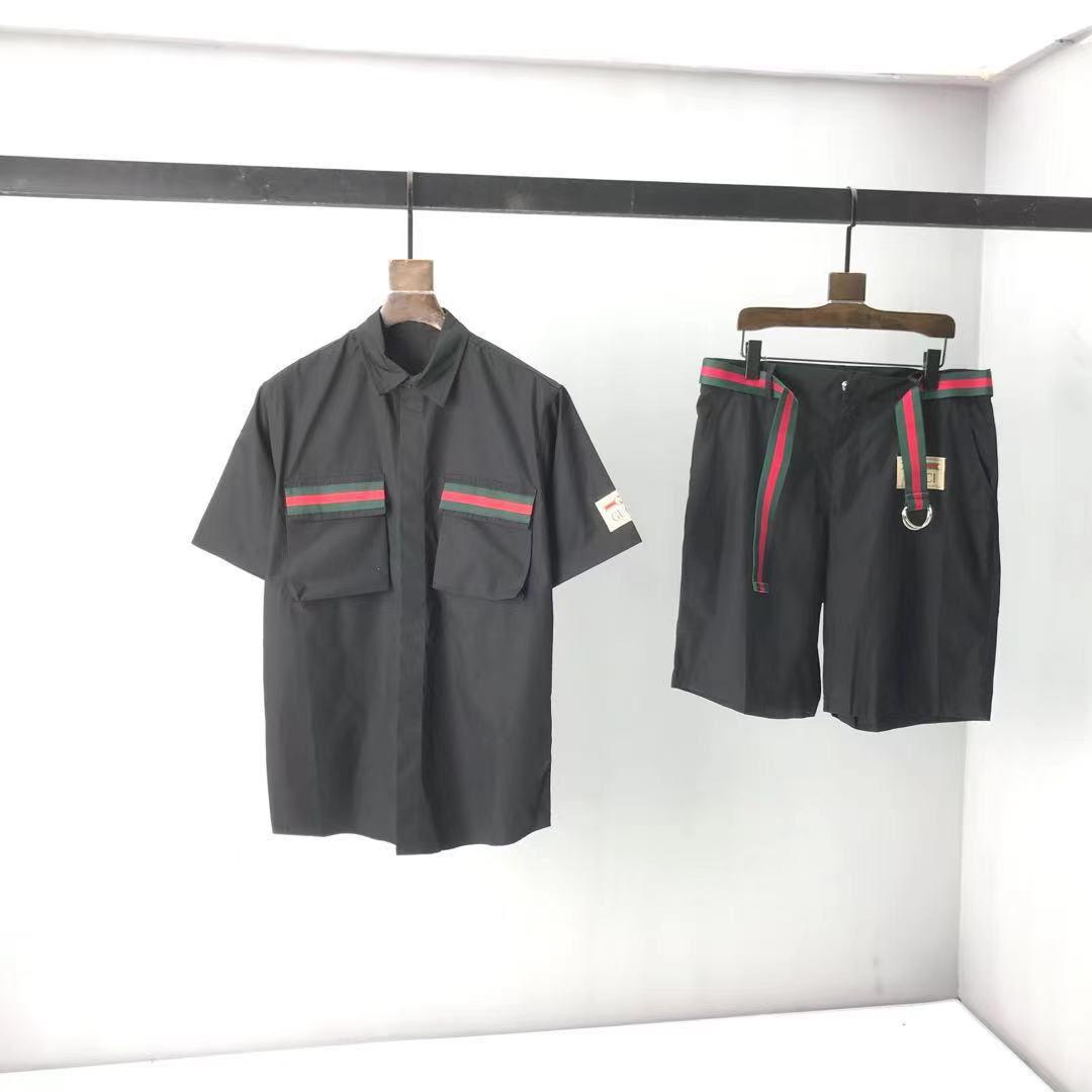 2021ss Spring and Summer Nouvelle Impression de coton à manches courtes à manches courtes T-shirt T-shirt Tableau: M-L-XL-XXL-XXXL Couleur: noir blanc CDXSSS2