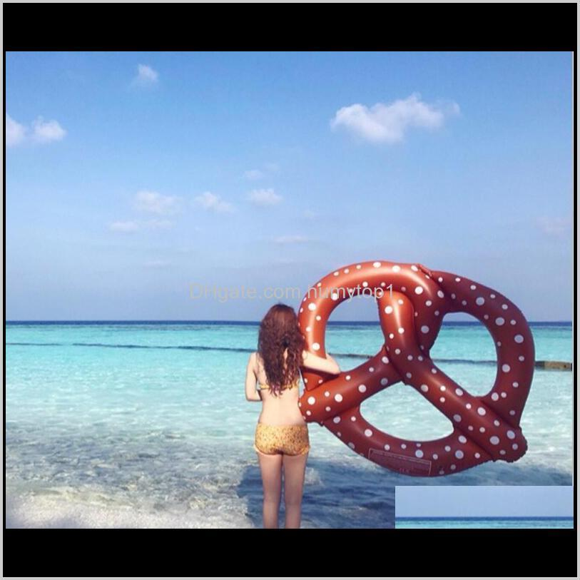 & Outdoors Drop Delivery 2021 Floating Pool Inflatable Swimming Rings 140Cm Floats Toy Tubes Water Sports Mattress Air Swim Raft Tiyr4