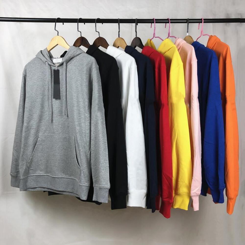 الرجال هوديس عالية الجودة مقنعين البلوز الأزياء الشارع الشهير طويل الأكمام البلوز عارضة هوديي القياسية والبليلة البلوز الرجل الملابس الأعلى زائد حجم S ---- 5xl