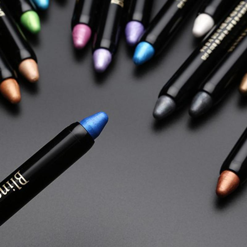 Couleurs Shimmer Ofshadow Crayon Beauty Maquillage Maquillage Holdlighter Eye Stick Shadow Cosmetic TSLM1