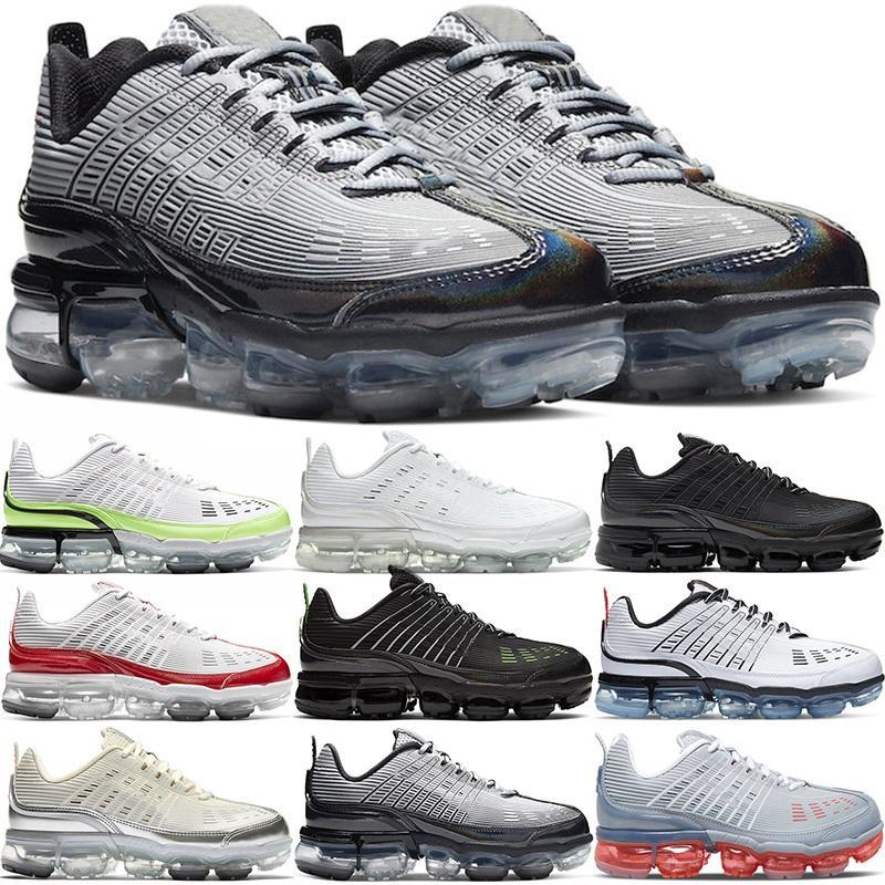 Buhar360 Artı Koşu Ayakkabıları Erkekler Kadınlar Büyük Boy Üçlü Beyaz Siyah Gri Üniversitesi Kırmızı Hız Sarı Erkek Sneakers Spor