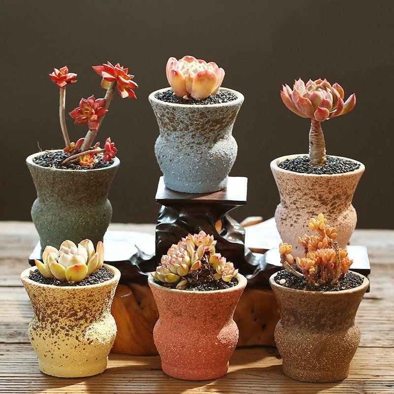 Pentole di fiori ceramica vasi succulenti vasi cactus vasi fioriera giardino vasi in ceramica pentola da giardino giardino decorazione della casa dainiIll 720 V2