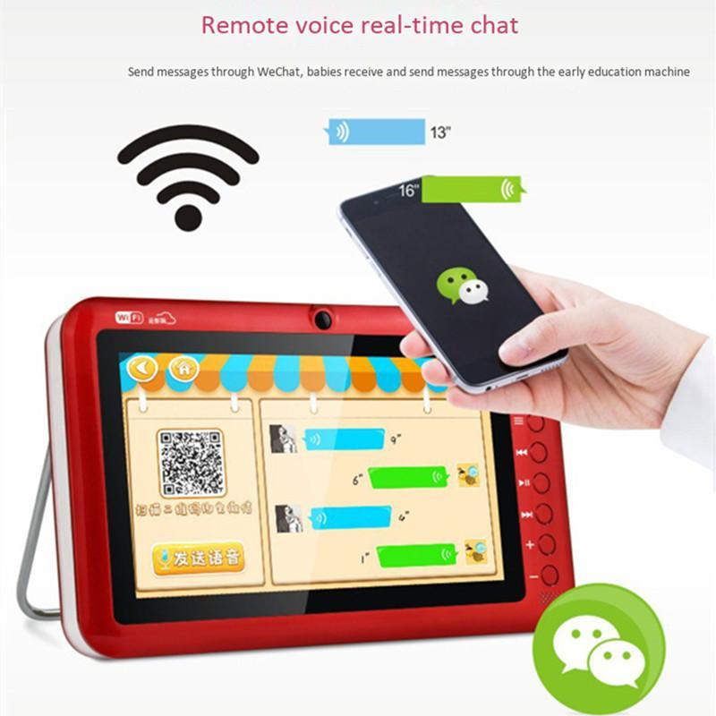 Portable HD 7 9 Inch WiFi Network Video Player FM Radio U Disk TF Card MP3 4 Game Machines Electronic Po Audio Speaker & MP4 Players