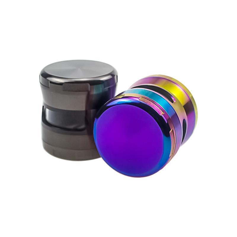 2021 spezielles design farbe mühlen metalltabak rauch zigarette detektor schleifen rauchende grinder fit cool geschenk trocken kraut