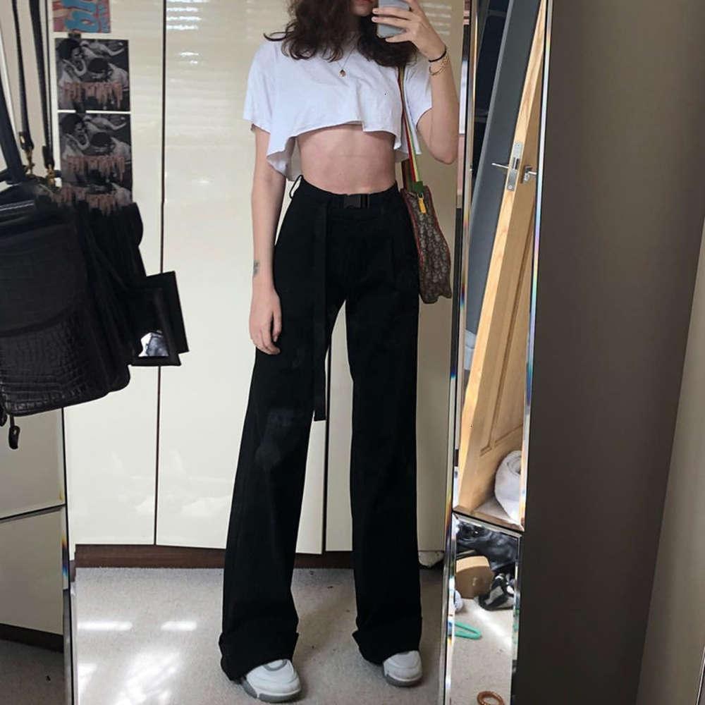 Jumpsuits & Rompers autumn Women's fashion street beat high waist casual pants