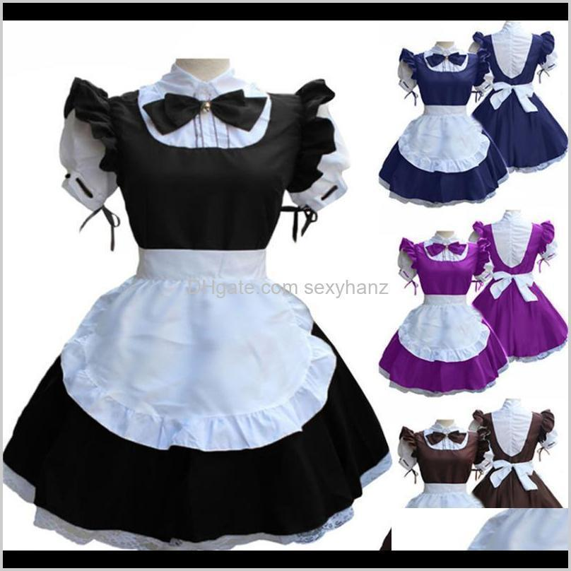 Costume Accessories Japanese Anime Maid Wear Halloween Medieval Cosplay Costumes For Women Court Party Clothing Carnival Festival Retr Jdsps