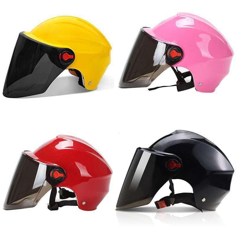 Motosiklet Kask Sürme Unisex Yaz Koruyucu Motocross Kaskları Kir Bisiklet Tam Yüz