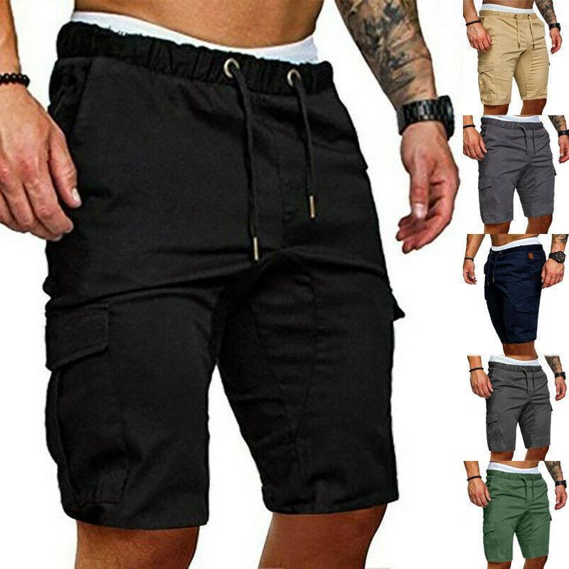 Pantaloncini da uomo 2021 Mens Summer Gym Sport Esecuzione di Allenamento Pantaloni cargo Pantaloni da jogger Pantaloni