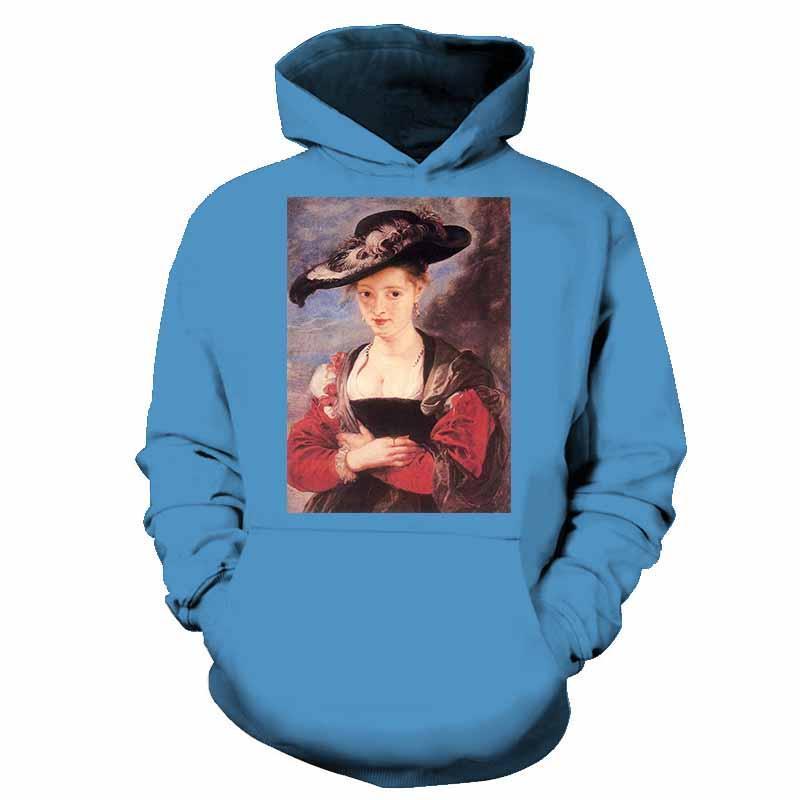 Men's Hoodies & Sweatshirts 2021 Sweatshirt Women's World Famous Paintings 3D Printing Streetwear Art Hoodie Jacket Pullover