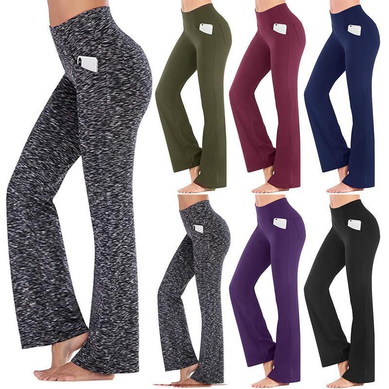 Fashion Workout Slim Leggins Casual Solid Pantalones Leggings Women Exercise Running Fitness Push Up High Waist Drop Women's