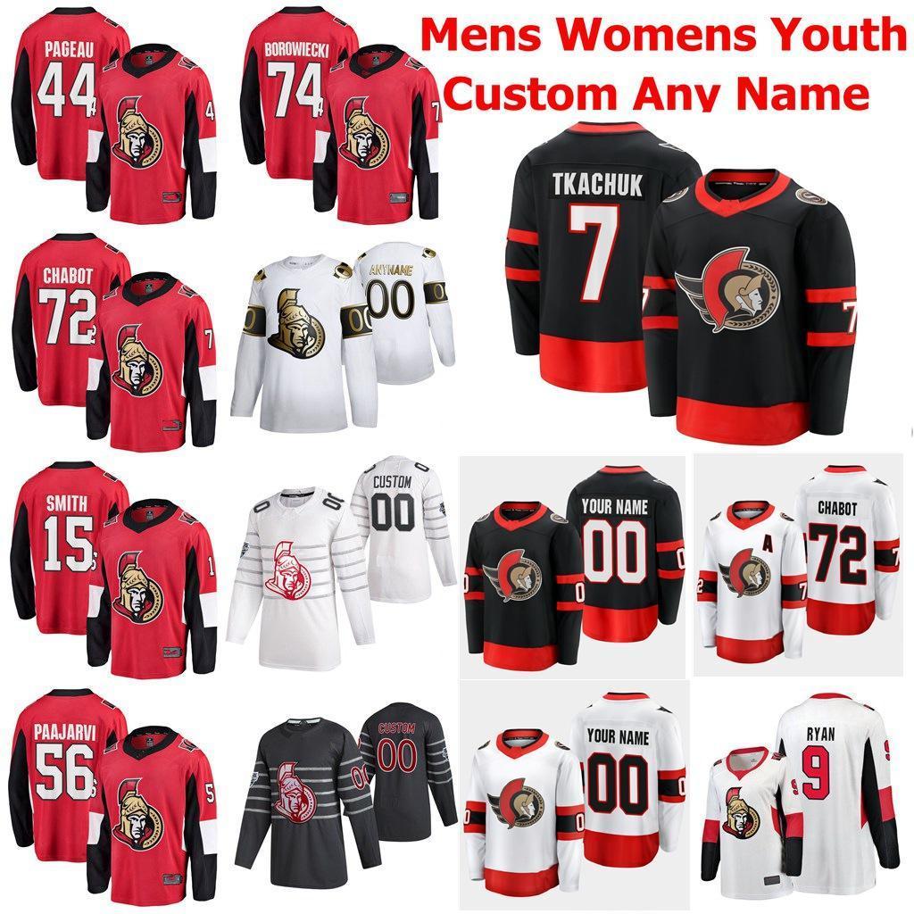 2021 Season Ottawa Senators Jerseys Anders Nilsson Jersey Anthony Duclair Christian Wolanin Rudolfs Balcers Custom Stitched