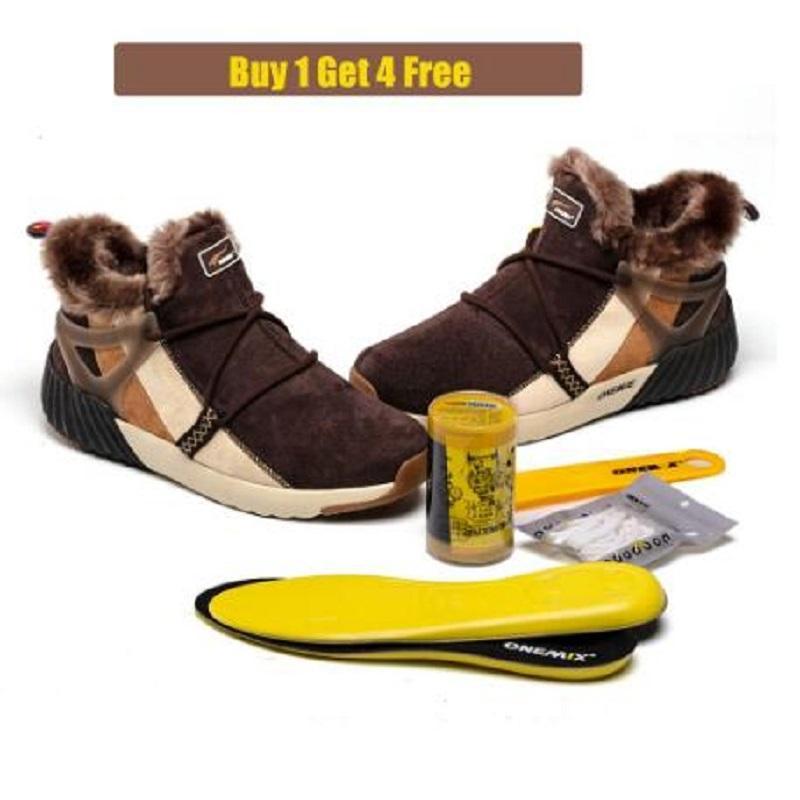 المشي الأحذية الرياضية المدربين Onemix الاحذية شبكة لينة إمرأة أحذية رياضية في الهواء الطلق الركض