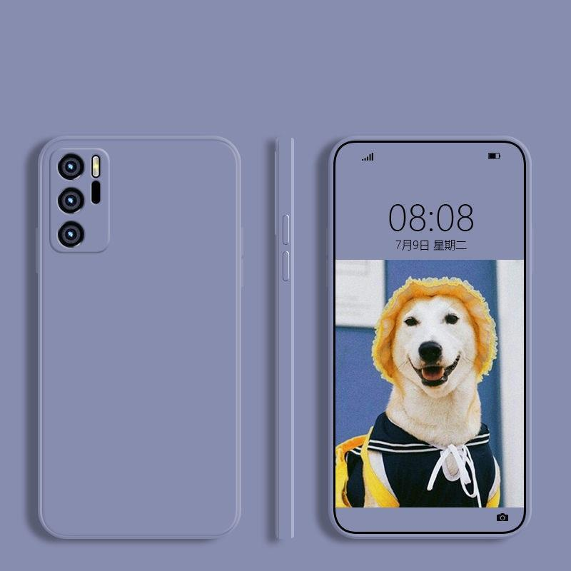 Quadrado Líquido Silicone TPU Capas Suaves Capa Para Huawei Honra 50 Pro Mate 40 Pro Plus 100pcs / lote