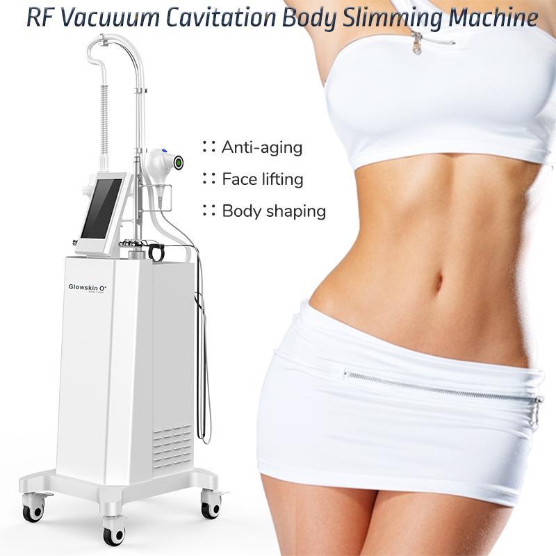 Body Scolpting Shaping Vacuum Massage Slimming Beauty Attrezzature di bellezza RF EMS IR Infrarossi Pelle Stringing Massage Macchina per riduzione del grasso