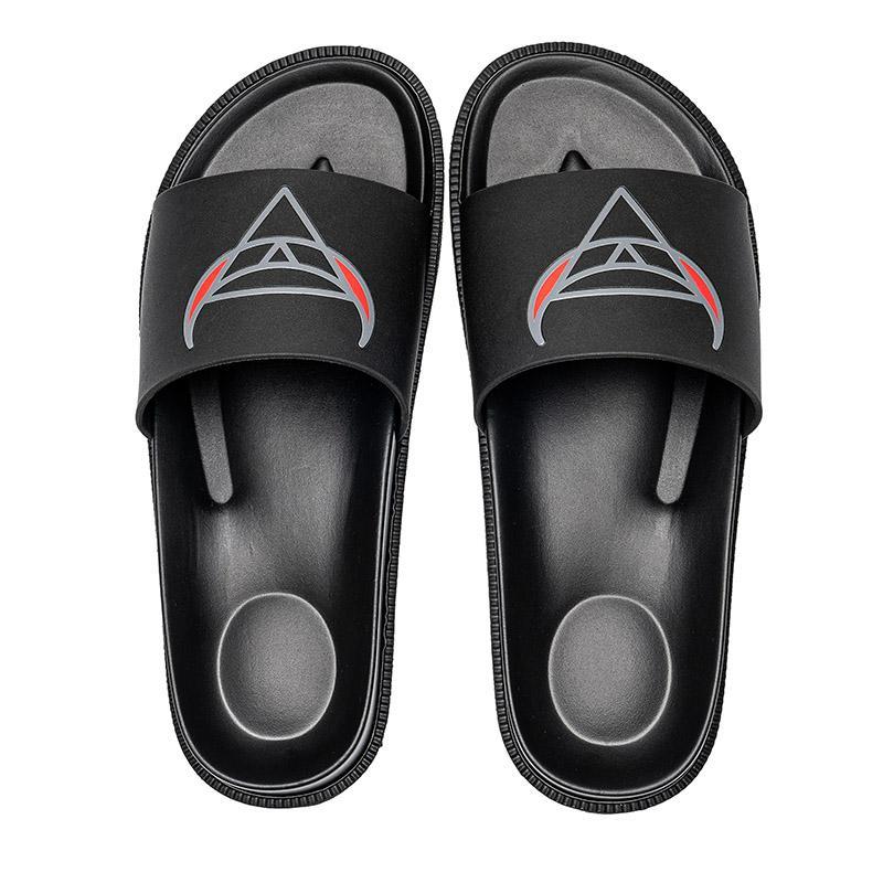 Sliders Mens Sandálias de Verão Sandálias de Praia Senhoras Ladies Flip Flocos Preto Branco Rosa Slides Chaussures Línguas Sapatos Home