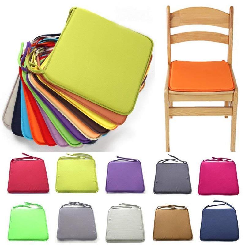 40см квадратный стул прокладка роскошные кресла подушки толще сиденья подушка для обеденного патио домашний офис подушка / декоративная подушка