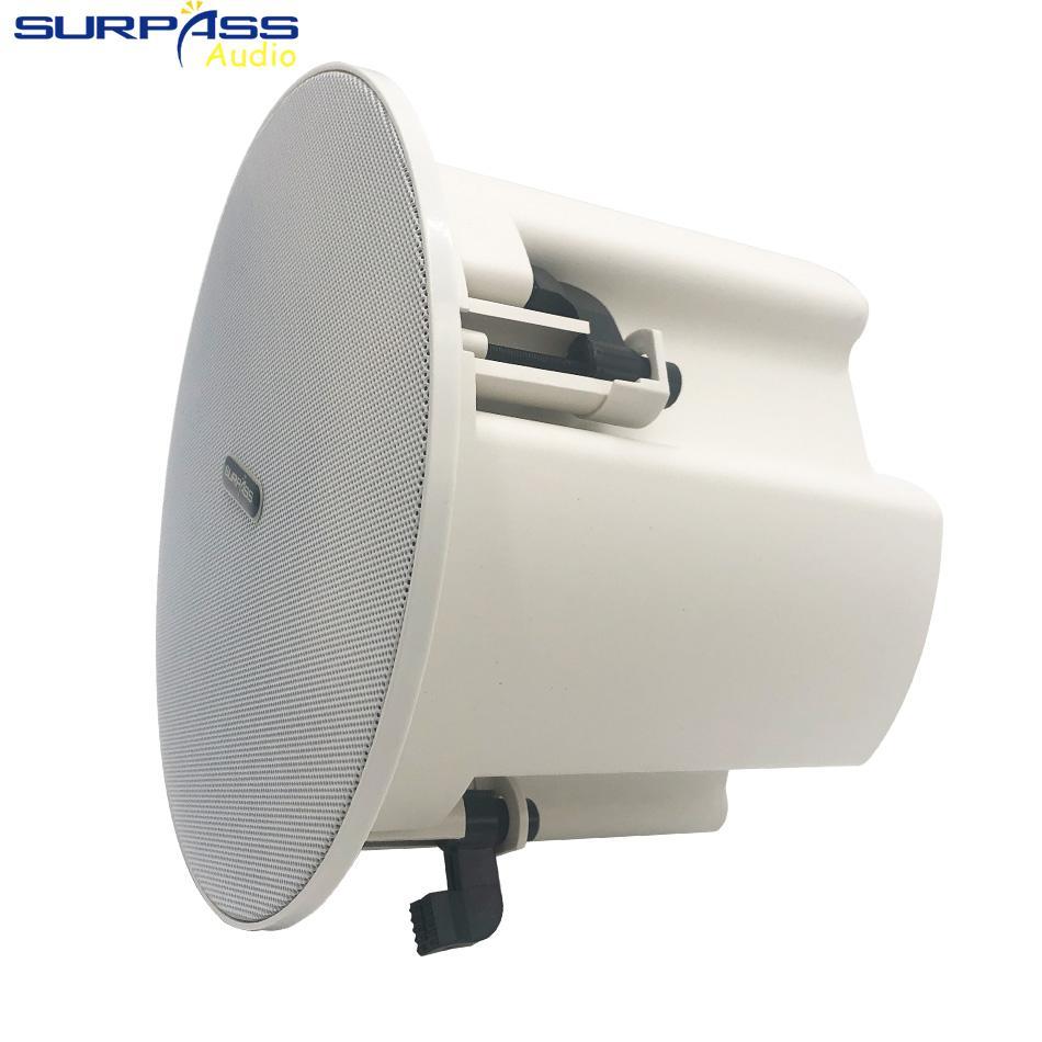 Haut-haut-parleur de plafond Bluetooth 8OHM Smart Casque Smart RMS 15Watts POINT POINT 45WATTS PA SYSTÈME SANS SANGAL