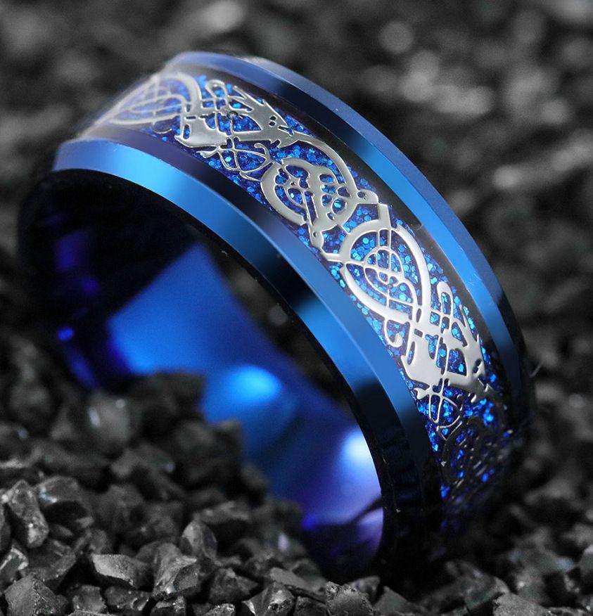 Ring Chenrui Schmuck Nibelung blau