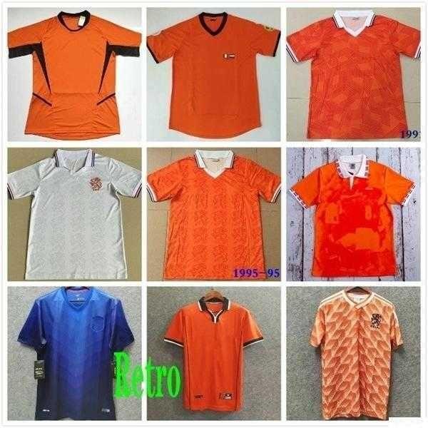 1988 Нидерланды ретро футбольные трикотажки ван Бастен 1998 Голландия классическая футболка Bergkamp Gullit Voetbal Hearts 1988 1988 Mailoot