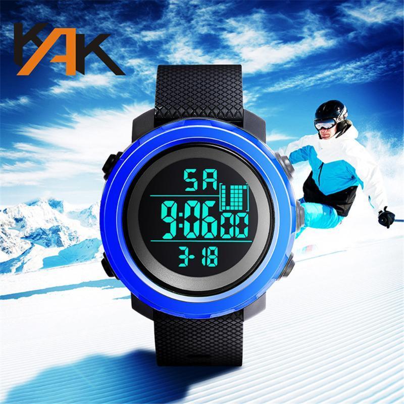 Relógio Digital para Homens Luxry Data Semana Moda High-end Homens Impermeável Série Eletrônica Modelos Mens Reloj Hombre 2021 relógios de pulso