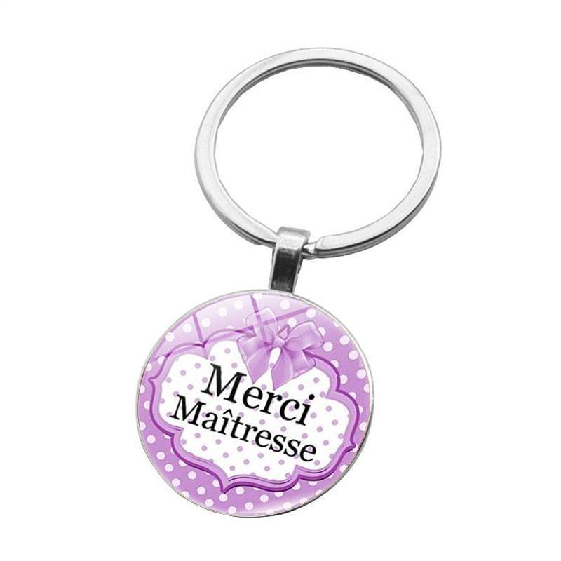 الحلي الإبداع مييتيسيس مفتاح سلسلة حلقة حامل الأزياء الفضة اللون الزجاج المعادن المفاتيح للرجال النساء مجوهرات المعلمين هدية