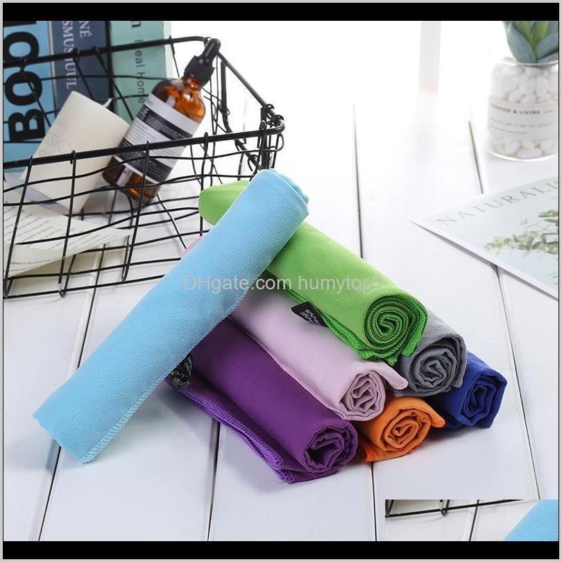 7 Colors 3580Cm Sports Cooling Towel Travel Swimming Microfiber Towels Quick Drying Facecloth Cca11723 30Pcs Iiuf5 X0Pku