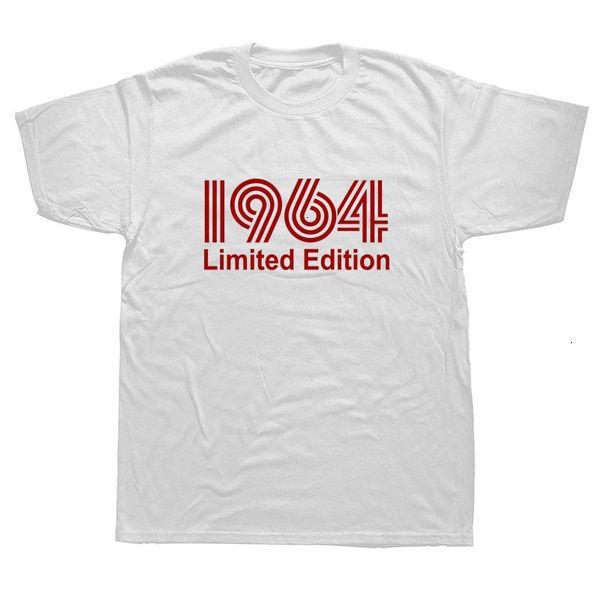 1964 Edition limitée T-shirt graphique drôle Mens Style estival Mode manches courtes surdimensionnées Streetwear t-shirts