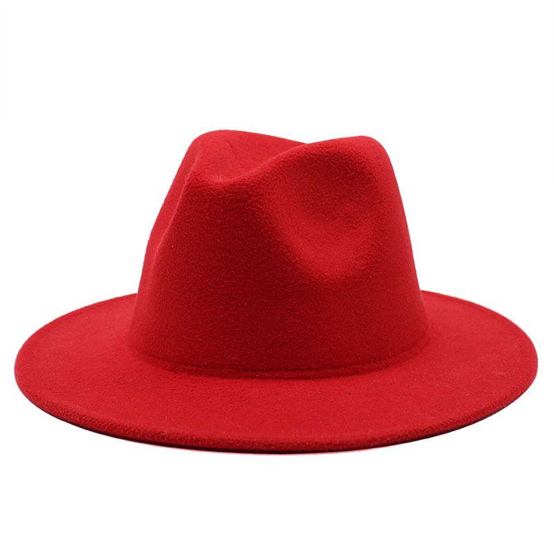 27 styles classiques large bord de porc porkpie fedora chapeaux de laine noire chapeaux hommes femmes concassées hiver hiver chapeau derby mariée église jazz