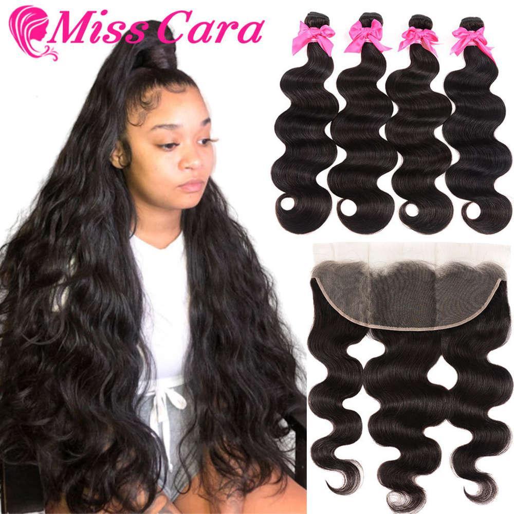 Ursprung Menschenhaar Umgekehrte Haarvorhang Spitze Block Body Wave Frauen Haarverlängerung