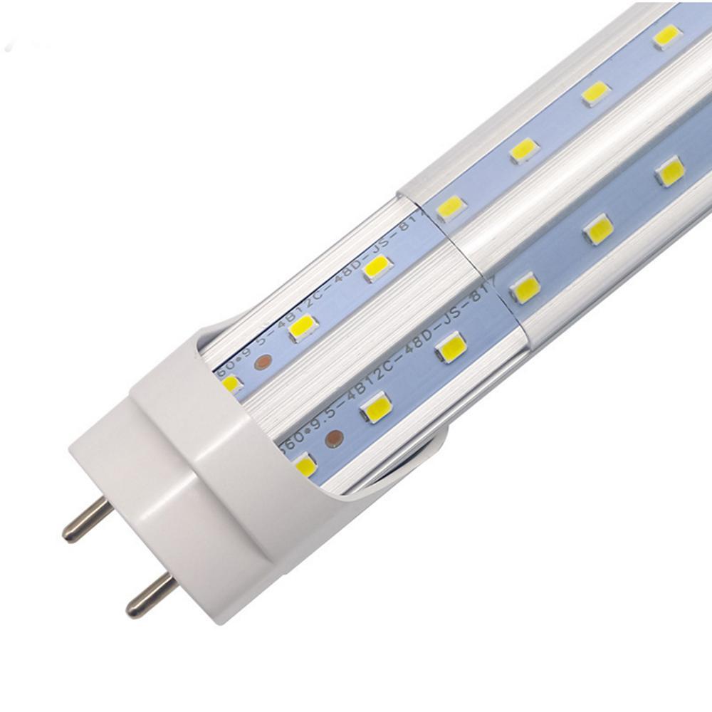 4ft 1.2m 28W LED 튜브 T8 4 피트 조명 4Feet 형광등 가게 창고 램프 지우기 커버