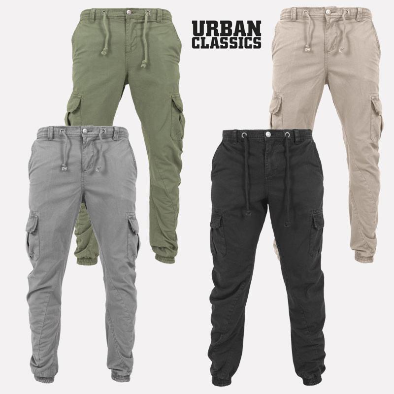 Herren Hosen Cargo Combat Work Hose Chino Baumwolle Pant Wear Jeans