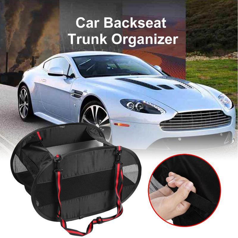 Car Organizer Trunk Oxford Large Cargo SUV Storage Bag And Tidying Collapsible Interior Accessories