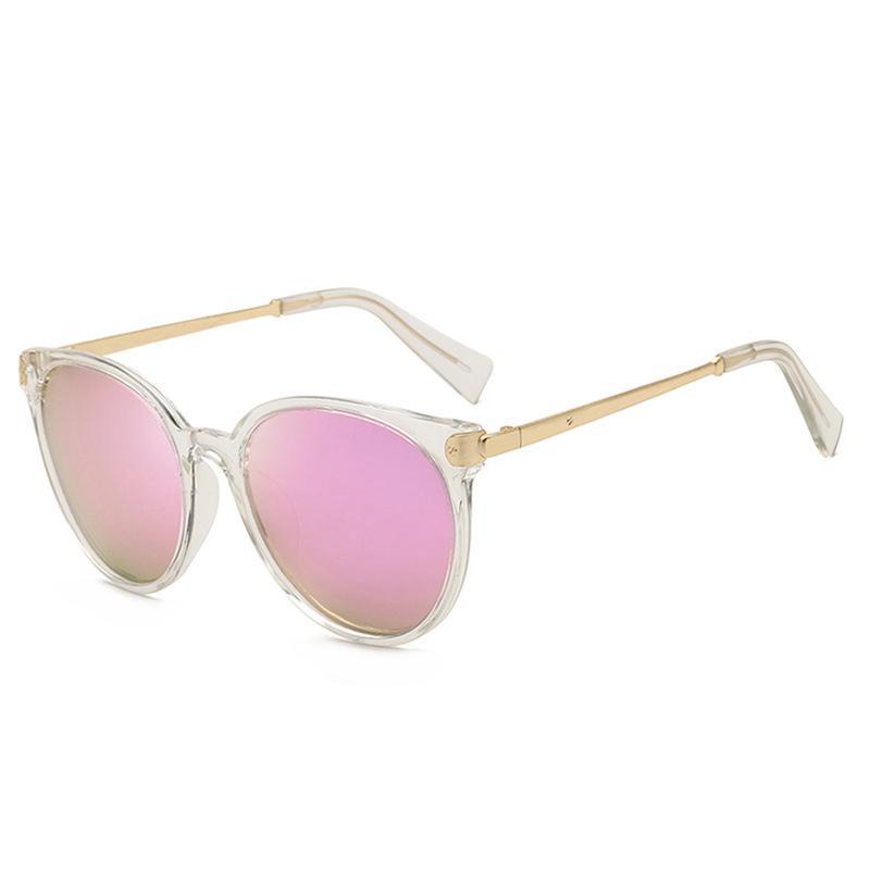 نظارات شمسية استقطاب uv400 مرآة عدسة معدنية إطار نظارات الشمس نظارات لطيف oculos infantil
