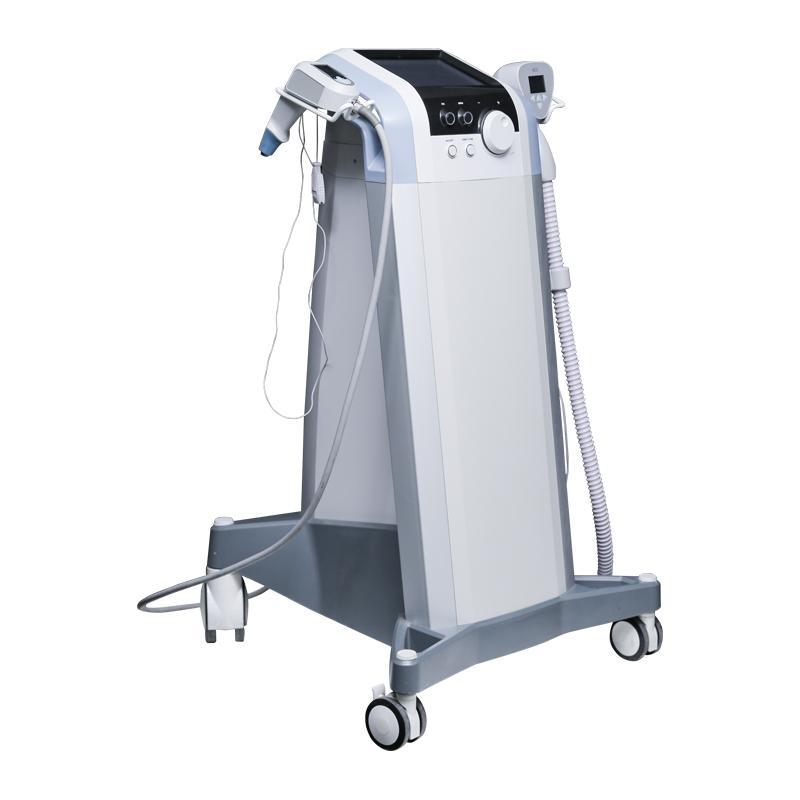 Wrinkle Cellulite Removal Focused 360 Ultrasound & Radio Frequency RF 2 Handles Body Shaping Machine Fat Reduction Contouring Massager Face Lifting RF Equipment