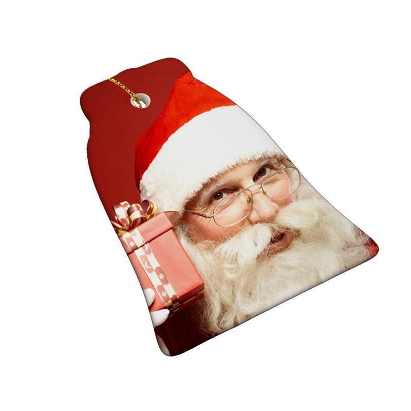 Sublimation Leerer Keramik Anhänger Kreative Weihnachtsschmuck Wärmeübertragung Drucken DIY Keramik Ornament GWE8813