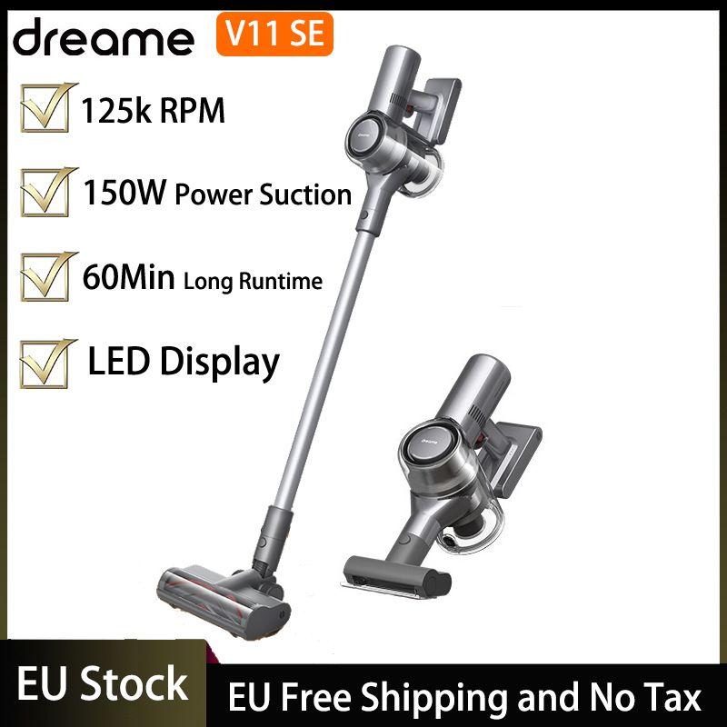 ЕС stocke stocke v11 se handheld v11se беспроводной вакуумный очиститель умная уборка 25 кПА мощный всасывающий светодиодный дисплей дисплей пылезащитный ковер, включительно для НДС