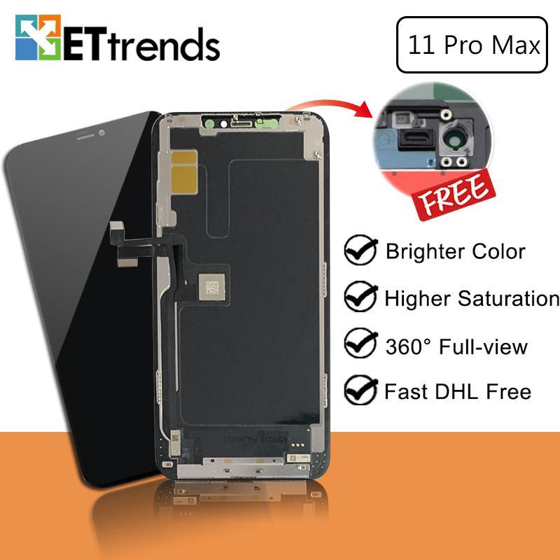 Melhor conjunto de tela LCD padrão LCD para iPhone 11 Pro Max com alta restoltion