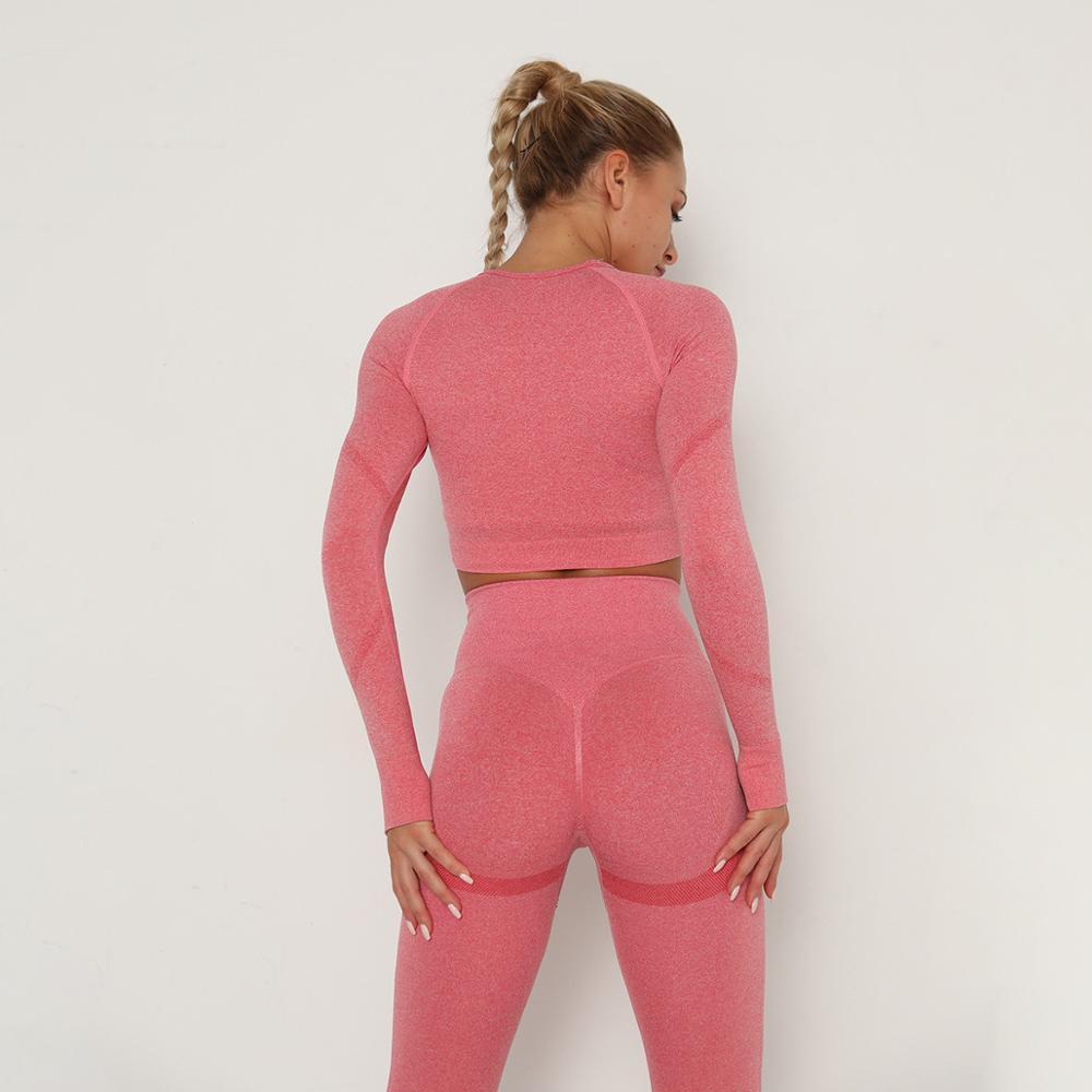 Йога брюки одежда комплект спортивный костюм женщин спортивная одежда спортивная одежда фитнес спортивная одежда бесшовные тренировки одежда для женщин