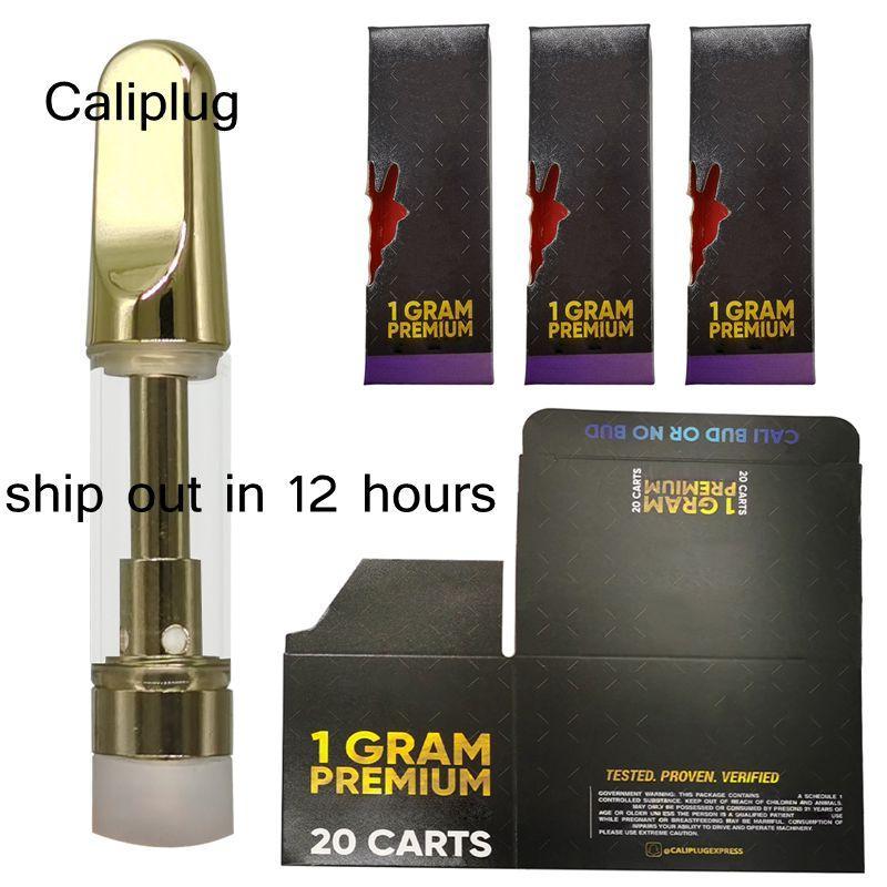 Altın Arabalar Hologram Vape Kartuş Ambalaj Cam Atomizer 0.8 ml 1 ml Seramik Kartuşlar Holografik Perakende Çanta Kutusu Boş 510 Tek Kullanımlık Kalemler