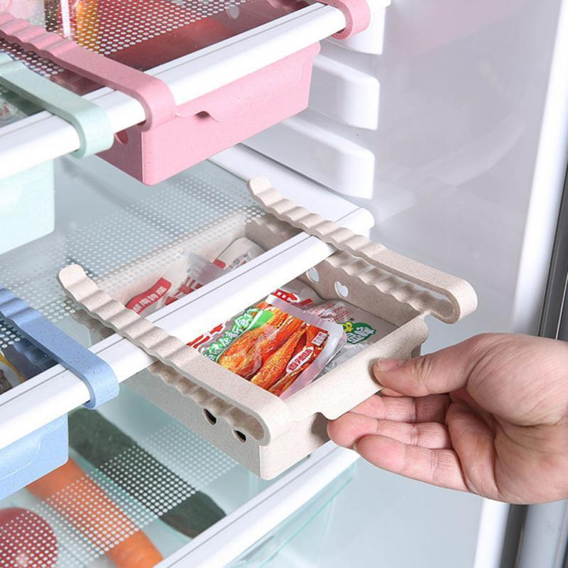 Бутылки для хранения JARS Кухня Организатор холодильника Корзина Холодильник Выдвижной Ящики Тип Контейнер Коробка Foodfruit Лоток