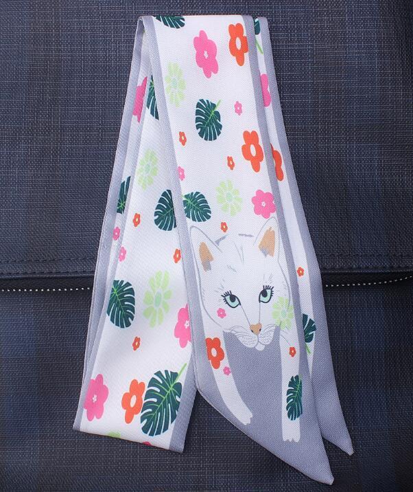 Primavera / verão animal impressão escara moda fina / saco lidar com pequenos lenços de lenços fita de pulso mix enviar.