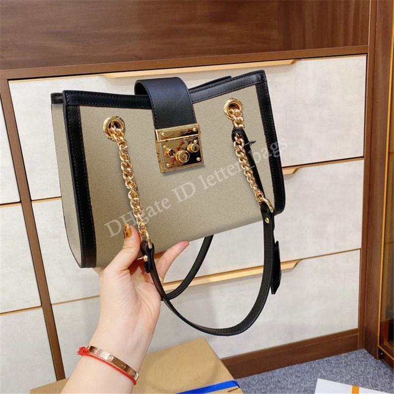 2021 luxurys designers femmes cadenas crossbody fourre-tout sac sac à main sac à main portefeuille chaîne sacoche sèche-claire paillettes sacs sacs sacs sacs à main sacs à main Portefeuilles portefeuilles