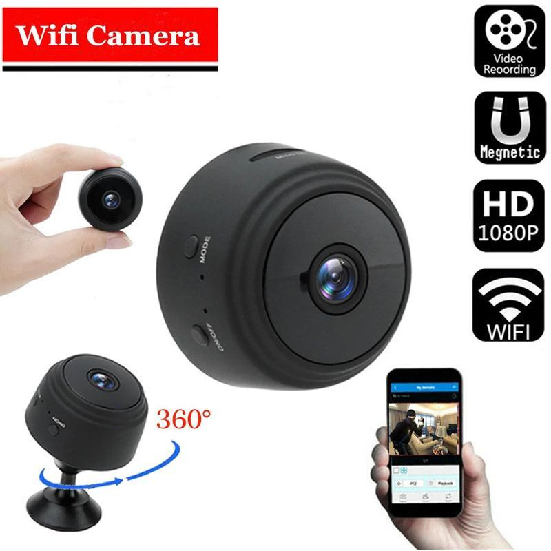 A9 1080P Mini Kameras WiFi Smart Wireless Camcorder Home Security P2P Kamera Nachtsicht Video Micro Small Cam