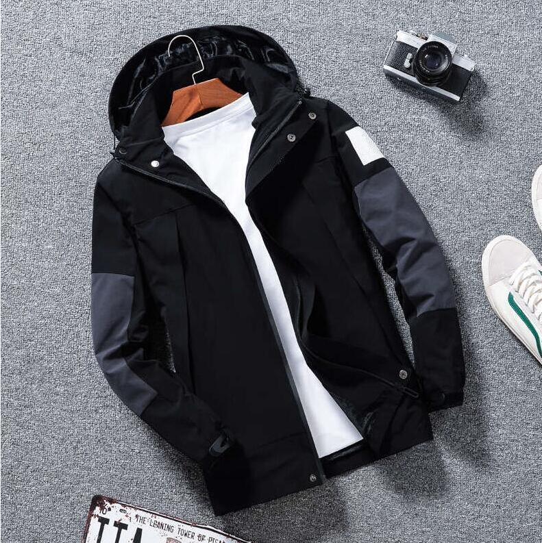 Мужская куртка Хорошее качество Верхняя одежда Пальто продукции с капюшоном Куртки с буквами Winterbreaker Застегивает толстовки для мужчин Спортивная одежда Топы Одежда 2