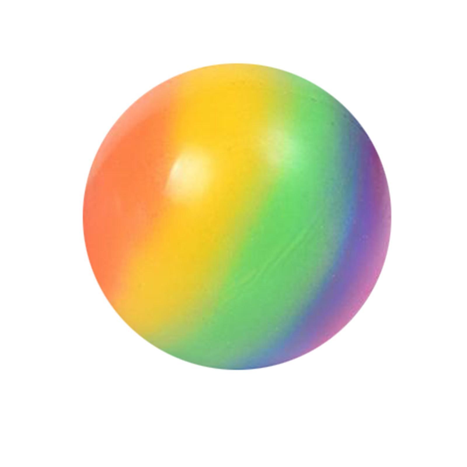 Squishmallow fidget juguetes arco iris creativo colorido ventilación bola descompresión juguete niños adulto descompresión juguete de juguete bola