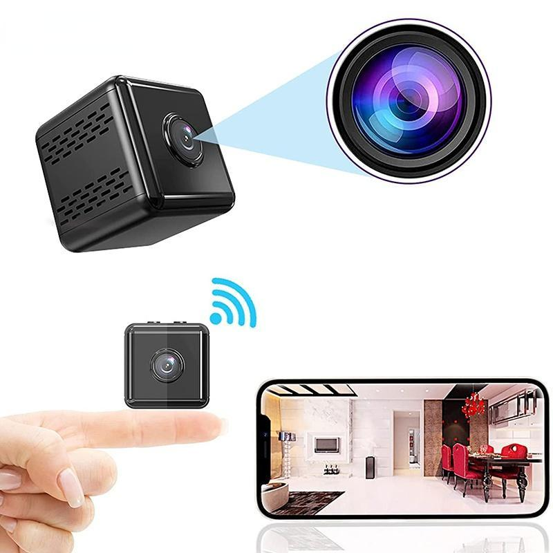 Mini Cameras Camera Real HD 1080P Wireless Smart Home Security IR Night Magnetic Camcorder Surveillance IP A9